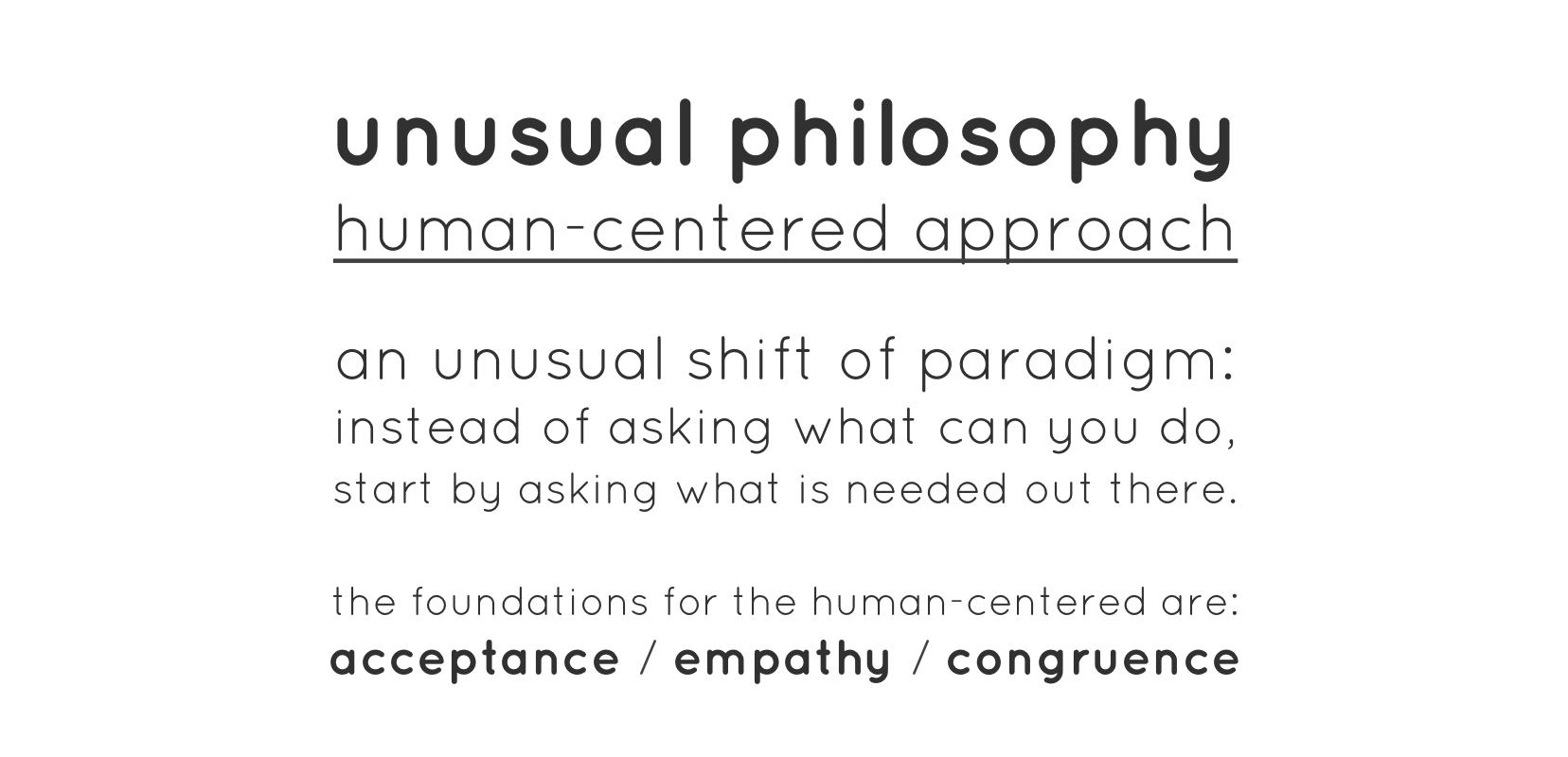 human-centered approach