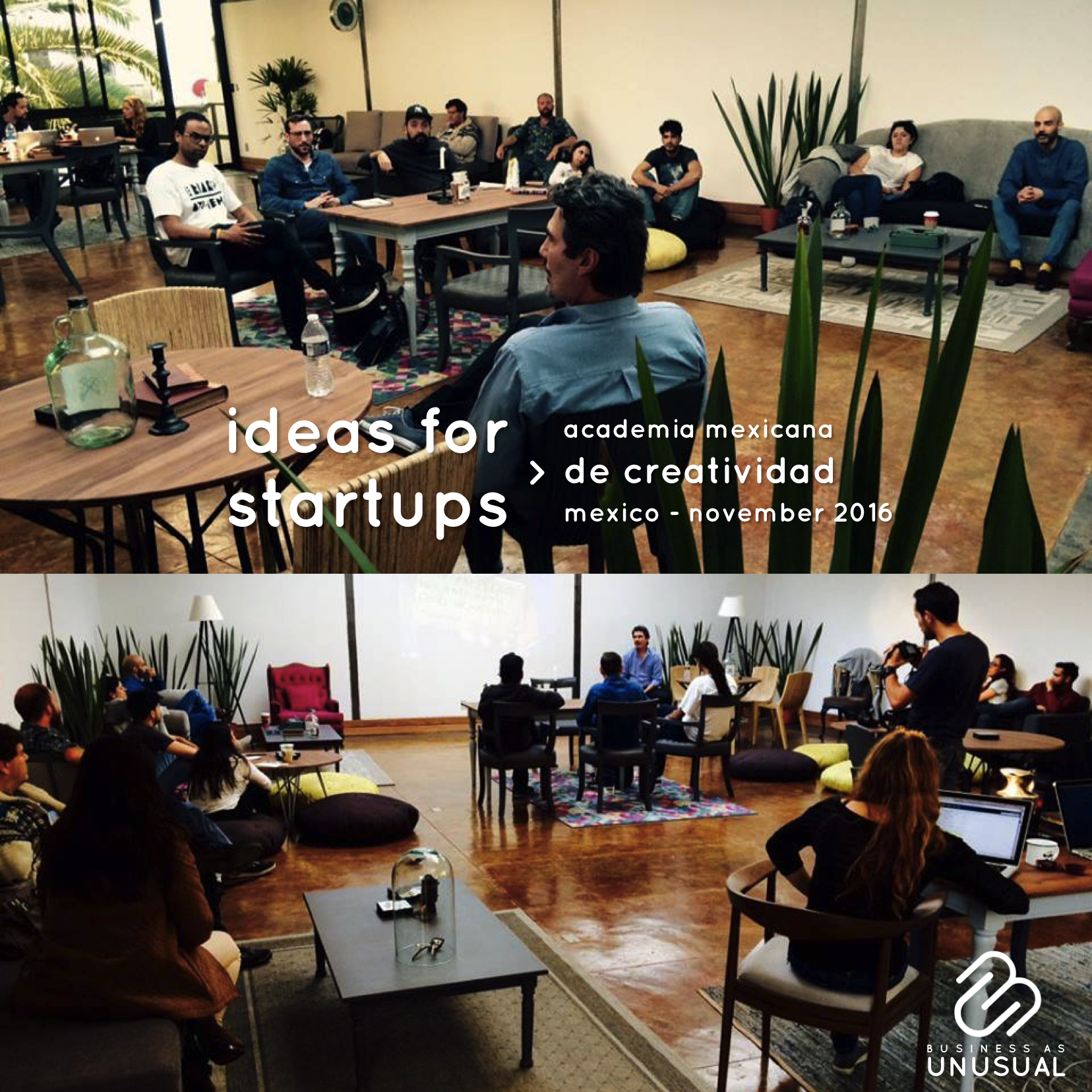 Academia Mexicana de Creatividad - Ideas for Startups
