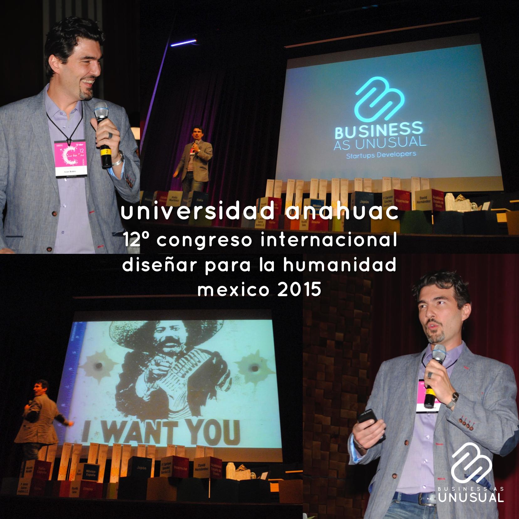 anahuac congreso diseñar humanidad