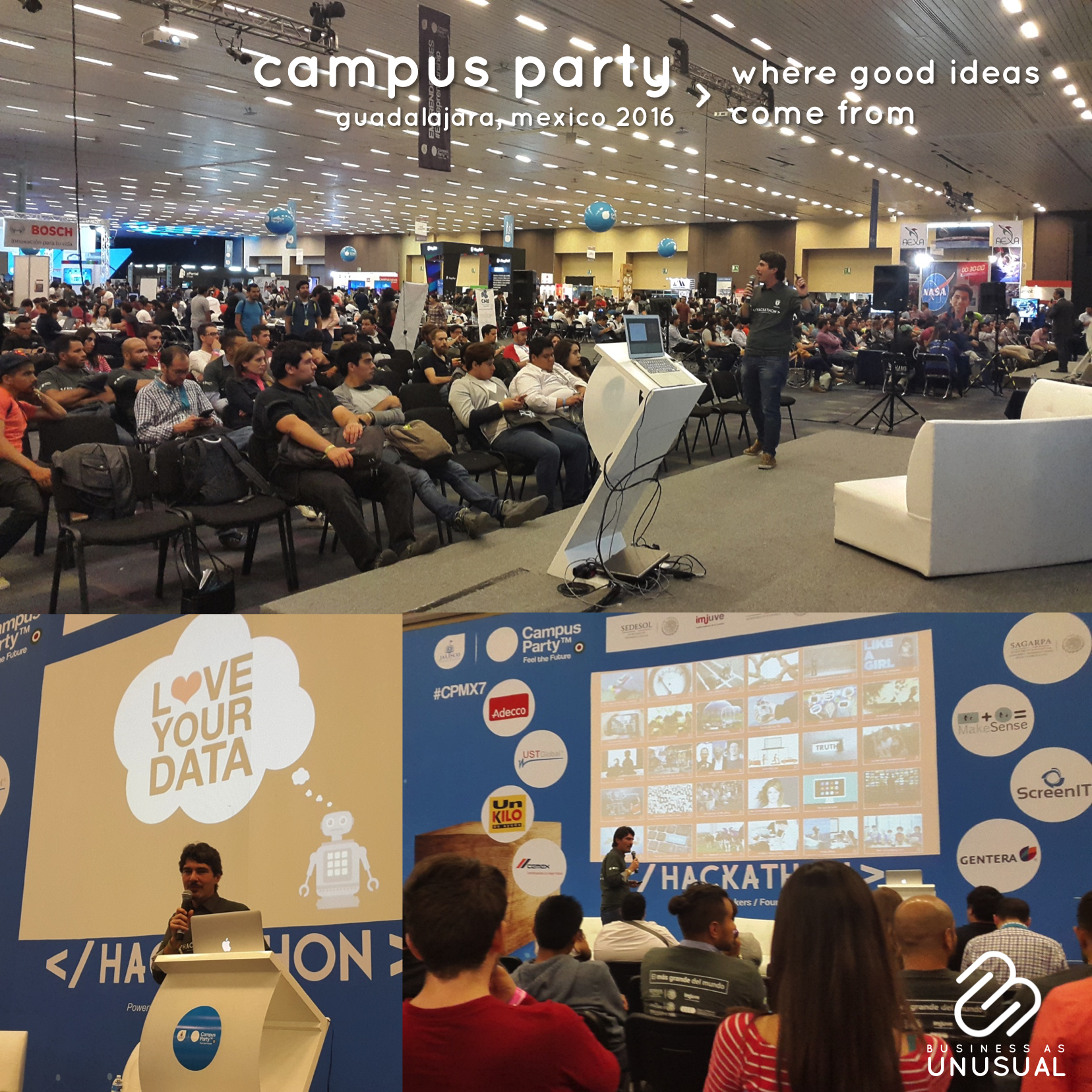 Campus Party - Where Good Ideas Come From