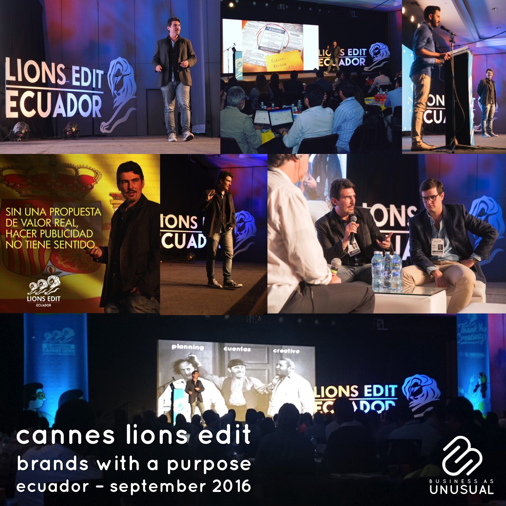 Cannes Lions Edit Ecuador - Brands with a Purpose