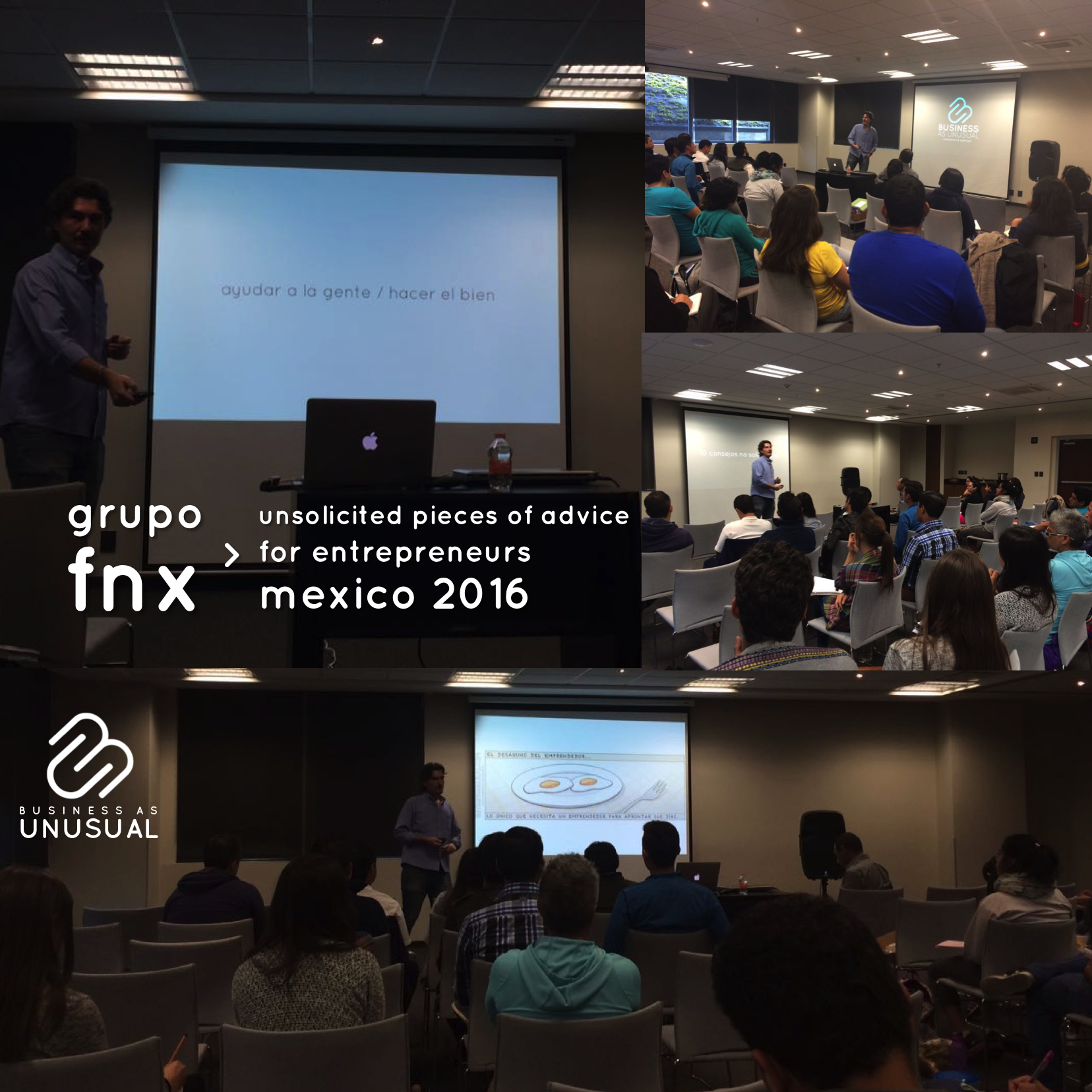 Grupo FNX - Unsolicited Pieces of Advice for Entrepreneurs