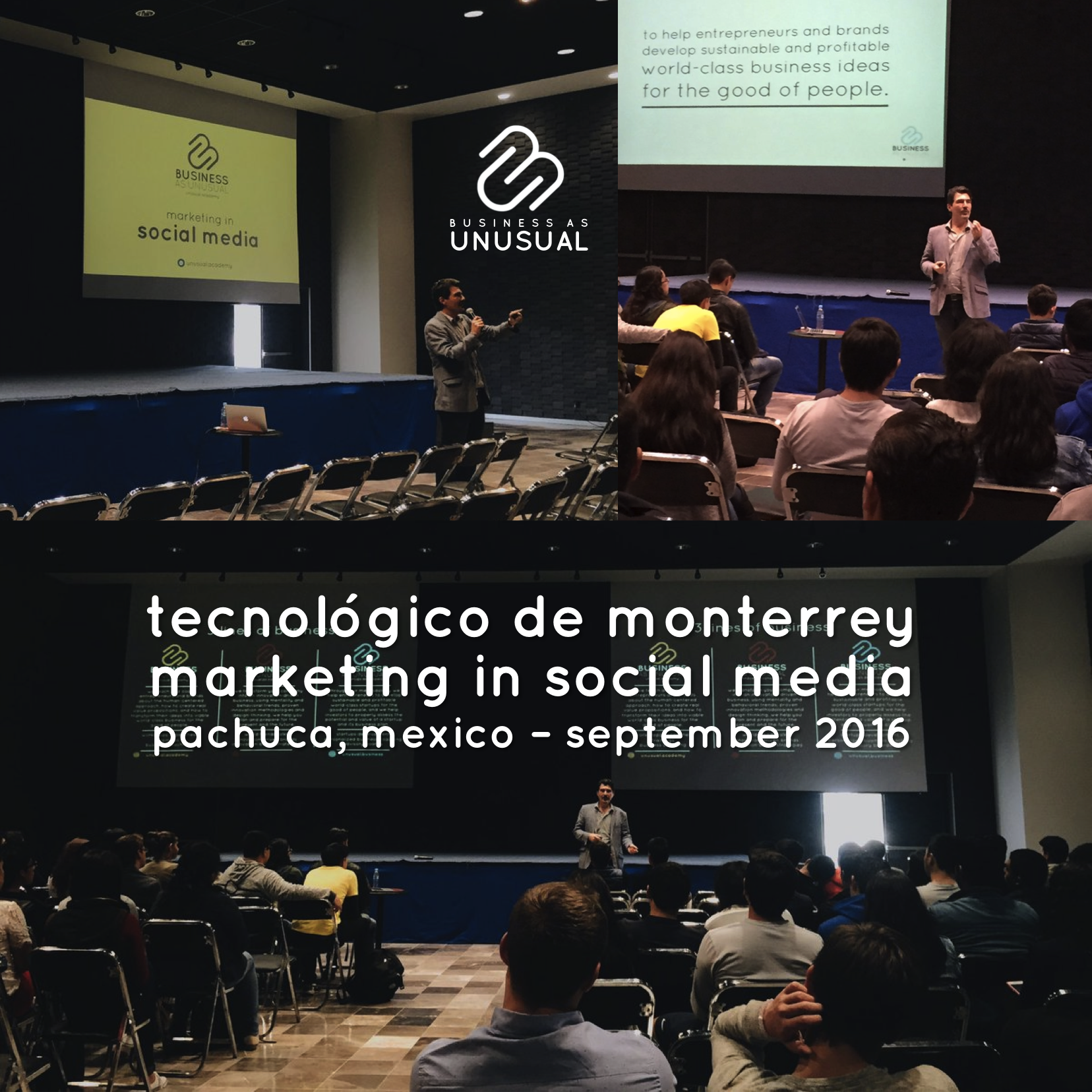 Instituto Tecnológico de Monterrey - Semana i - Pachuca 2016