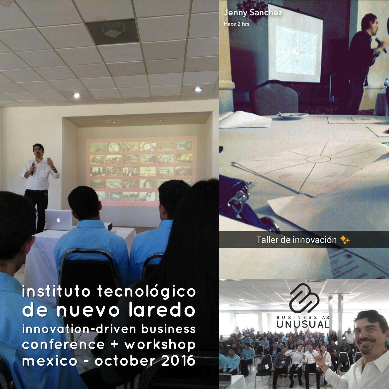 Instituto Tecnológico de Nuevo Laredo - Innovation-Driven Business