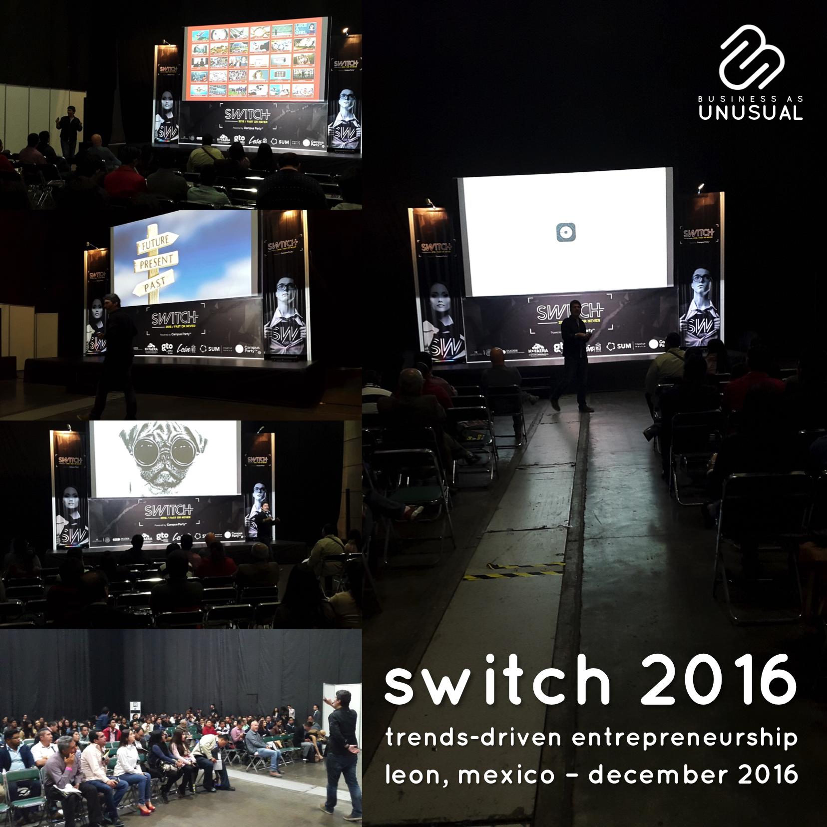 Switch 2016 - Trends-Driven Entrepreneurship