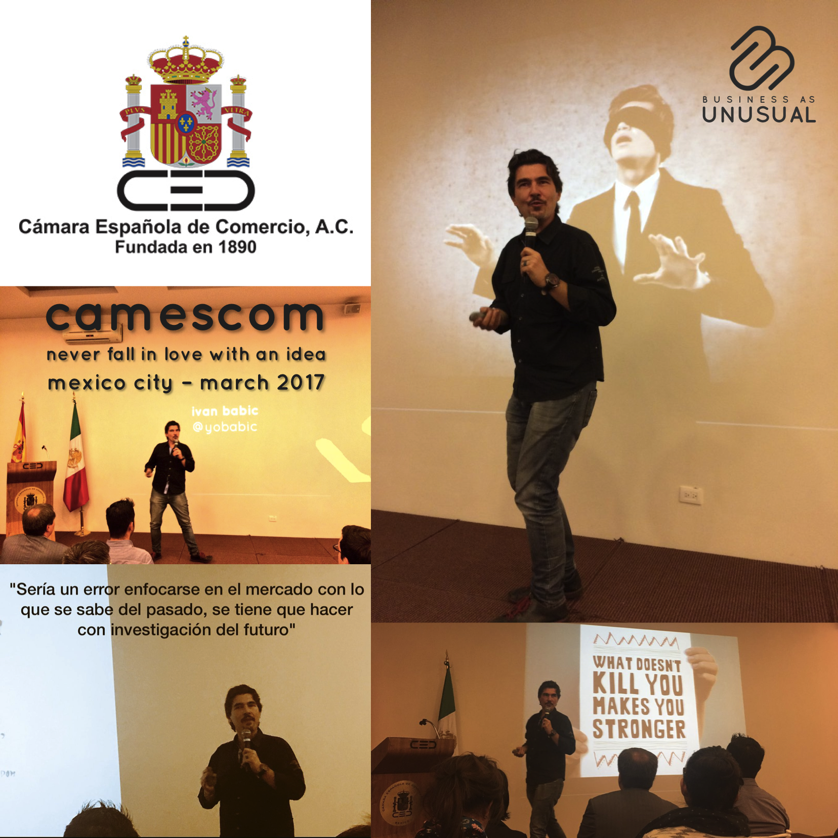 CAMESCOM - Never fall in love with an idea