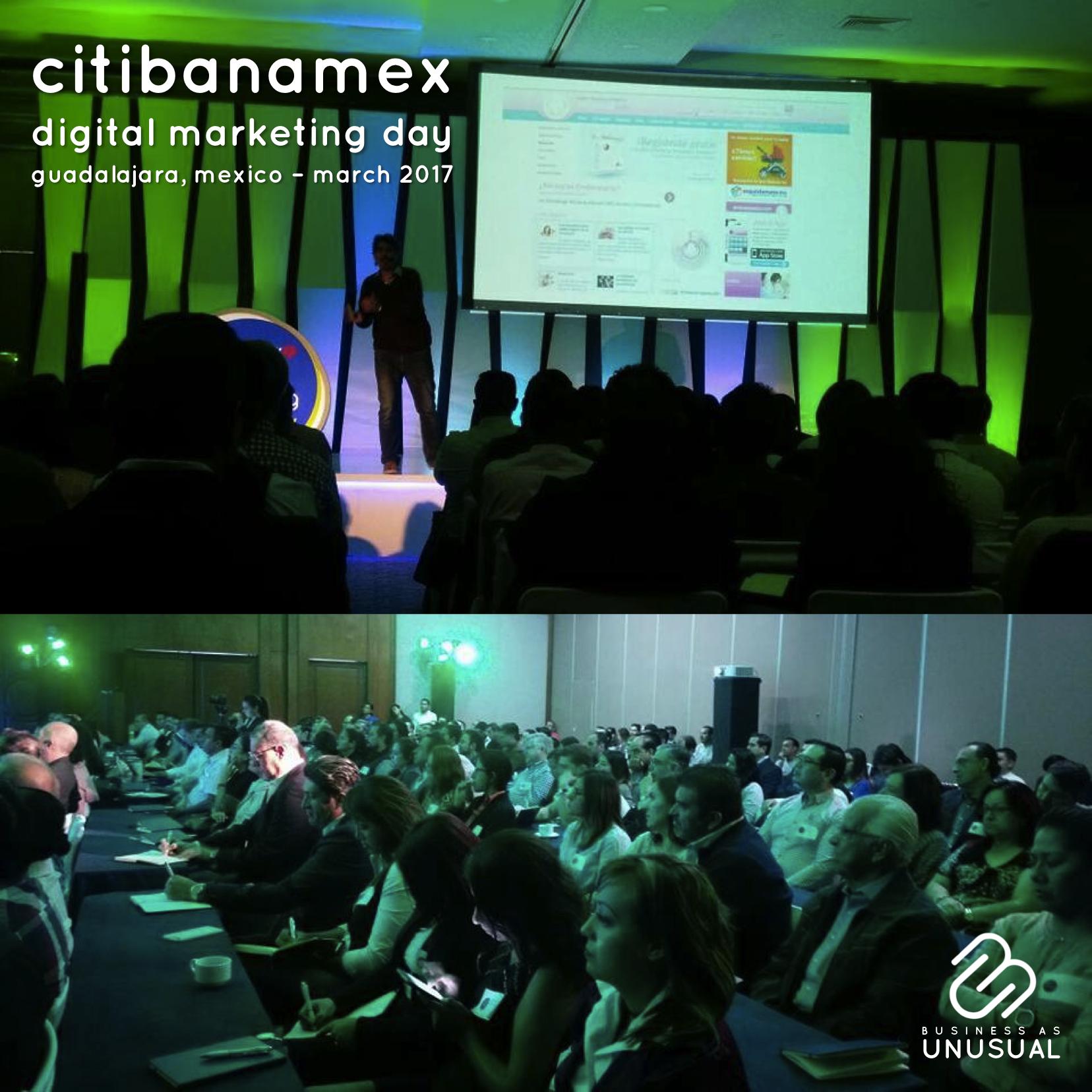 Citibanamex - Digital Marketing Day - Guadalajara