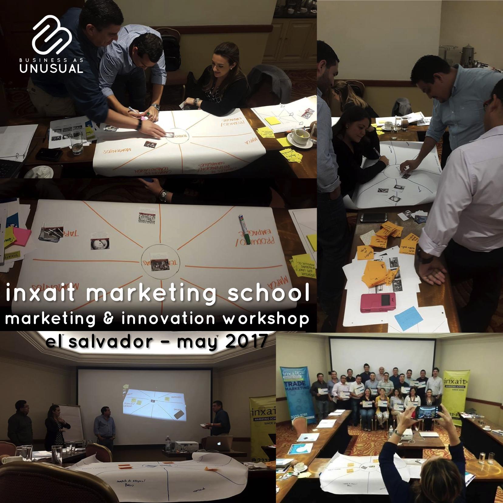 INXAIT Marketing School - Innovation and Marketing Workshop