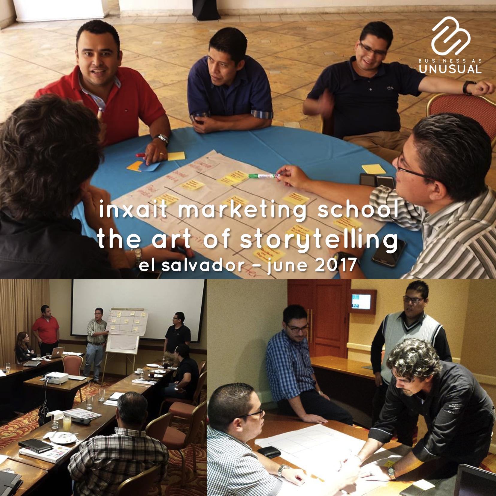 INXAIT Marketing School - The Art of Storytelling