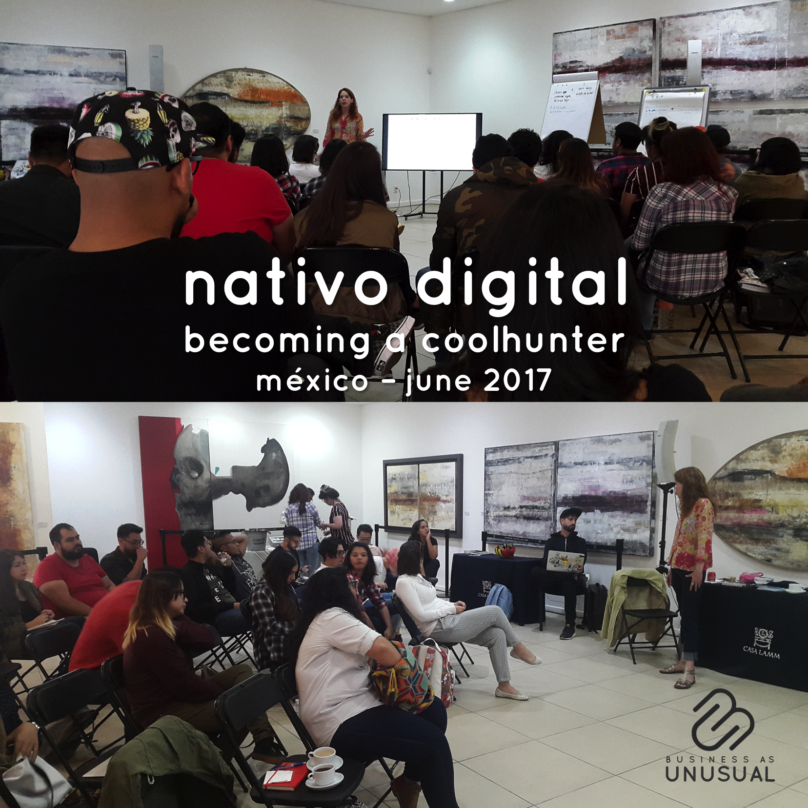 Nativo Digital – Becoming a Coolhunter – Session One – June 2017