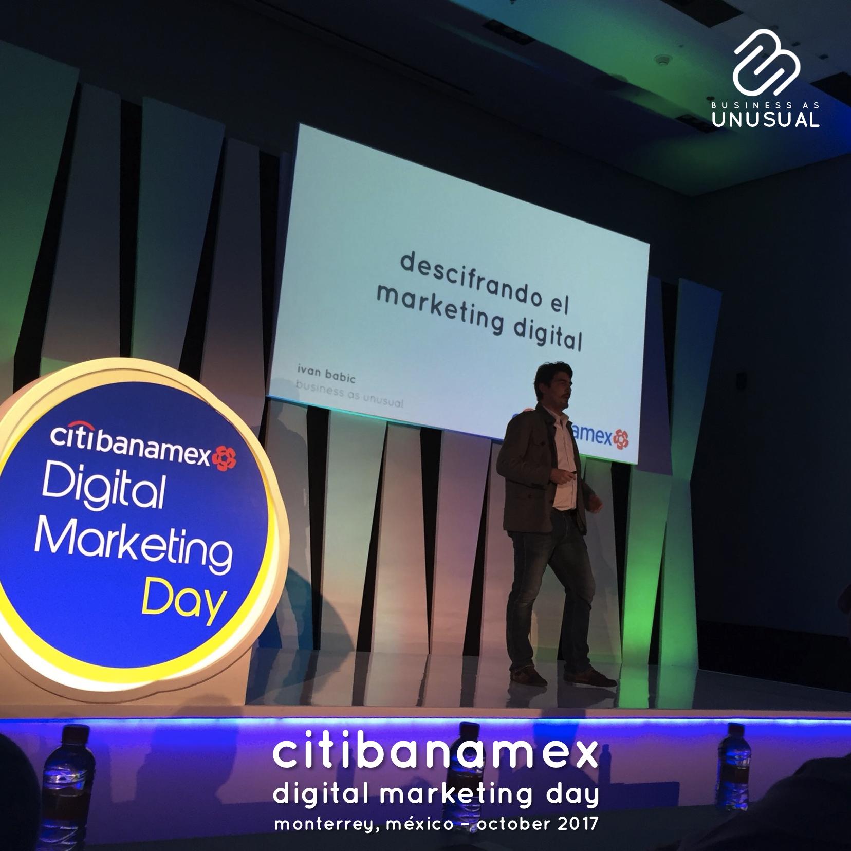 Citibanamex - Digital Marketing Day - Monterrey