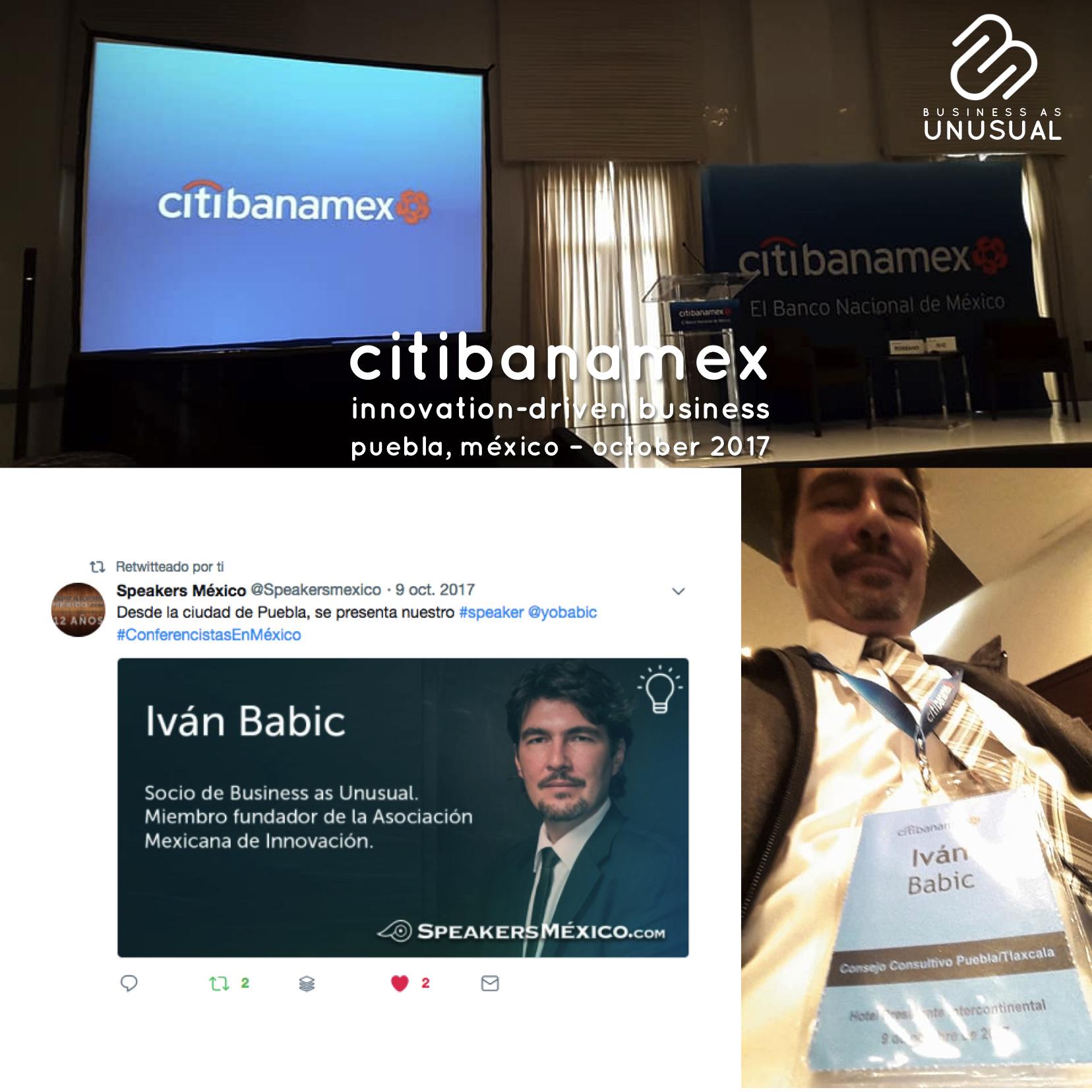 Citibanamex - Innovation-Driven Business - Puebla