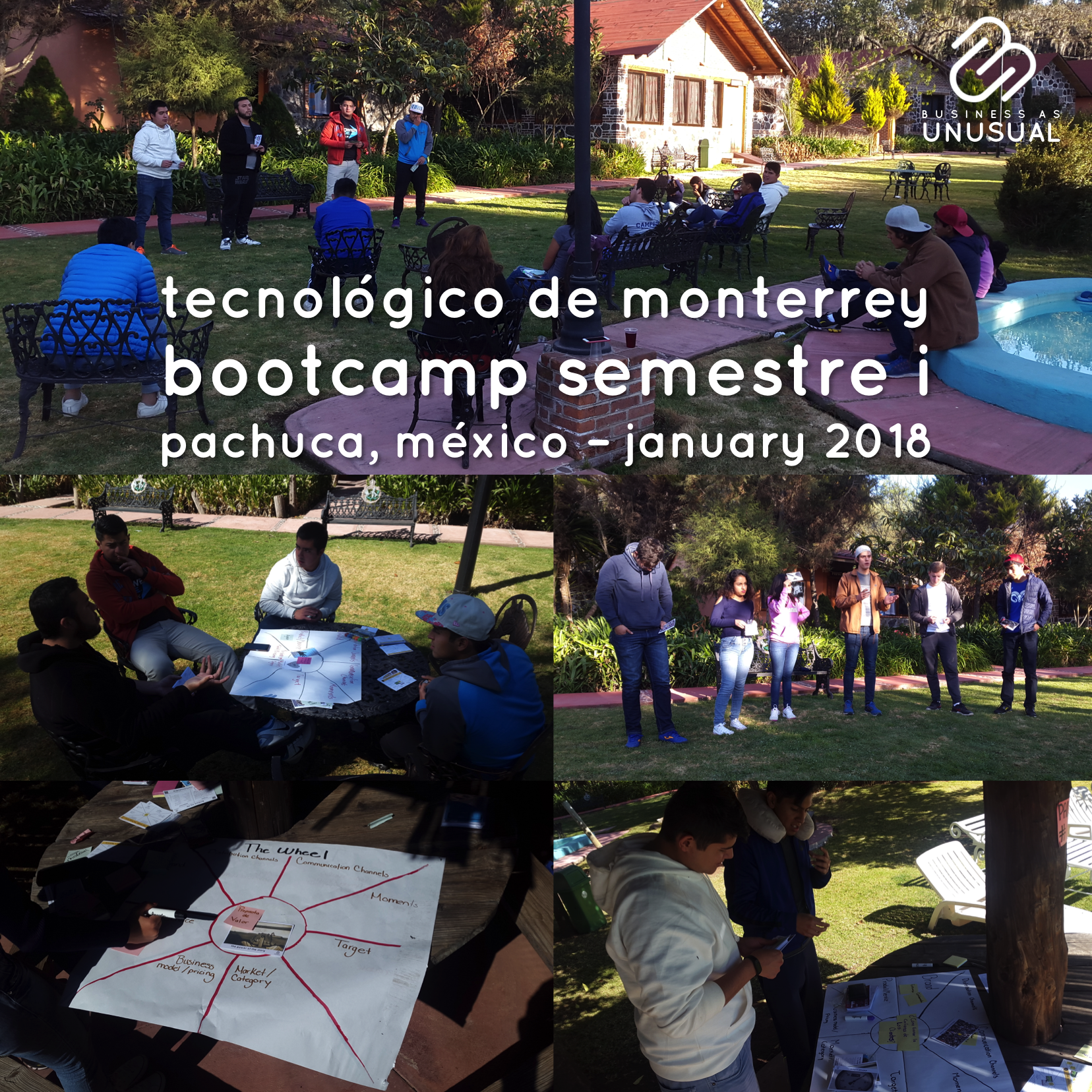 Instituto Tecnológico de Monterrey - Bootcamp Semester i - Pachuca 2018