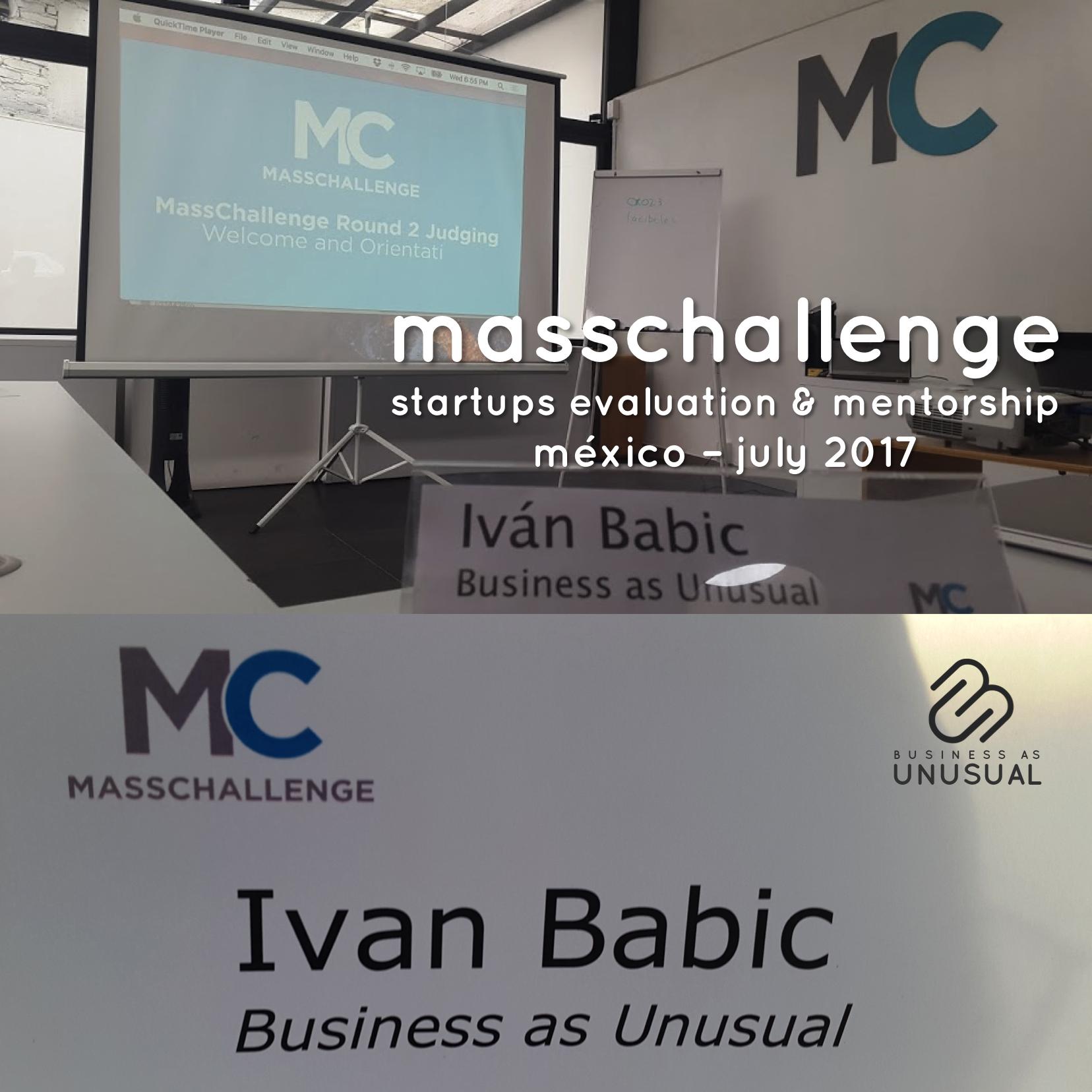 MassChallenge - Startups Evaluation & Mentorship