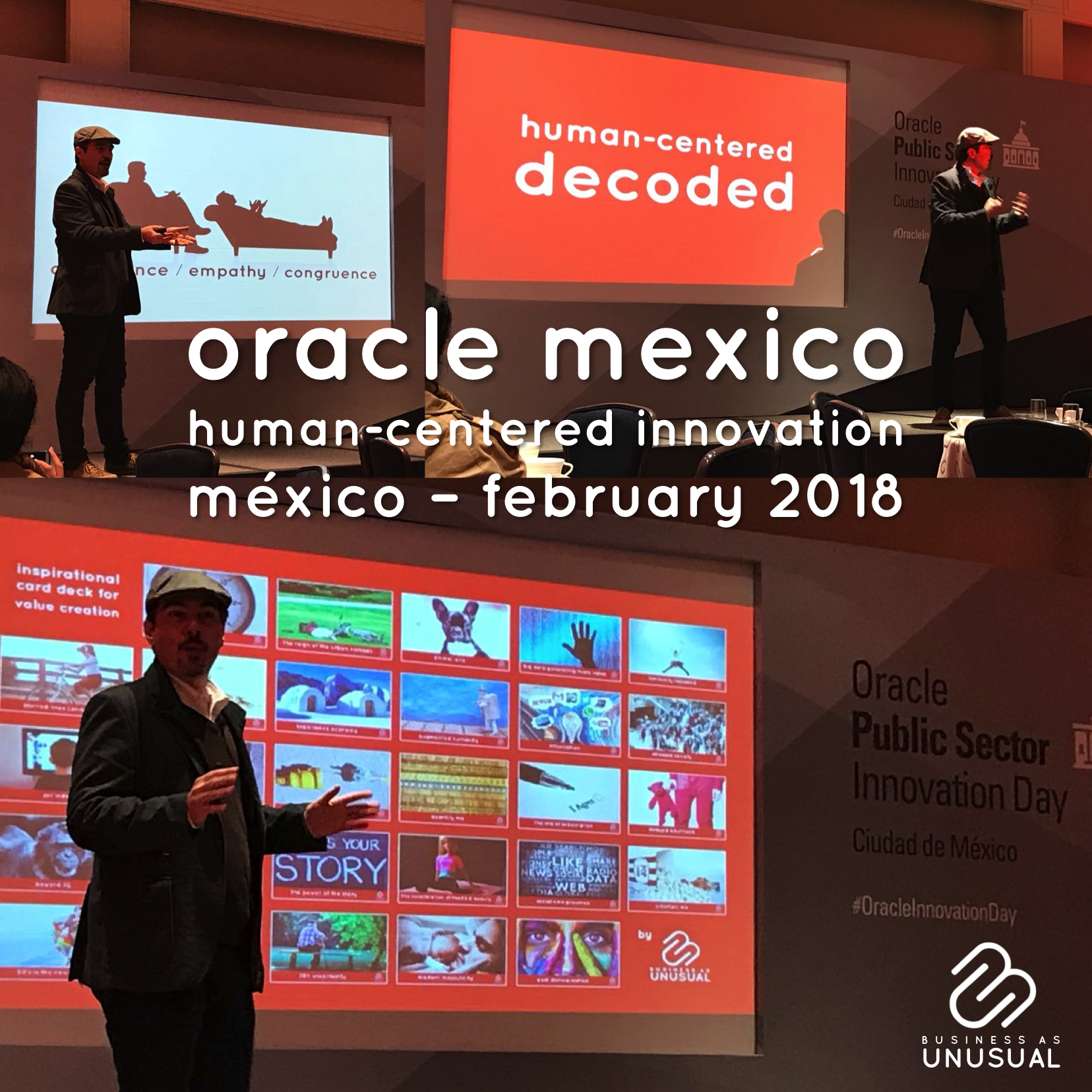 Oracle Mexico – Human-Centered Innovation – February 2018