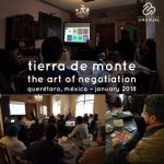 Tierra de Monte - The Art of Negotiation - January 2018