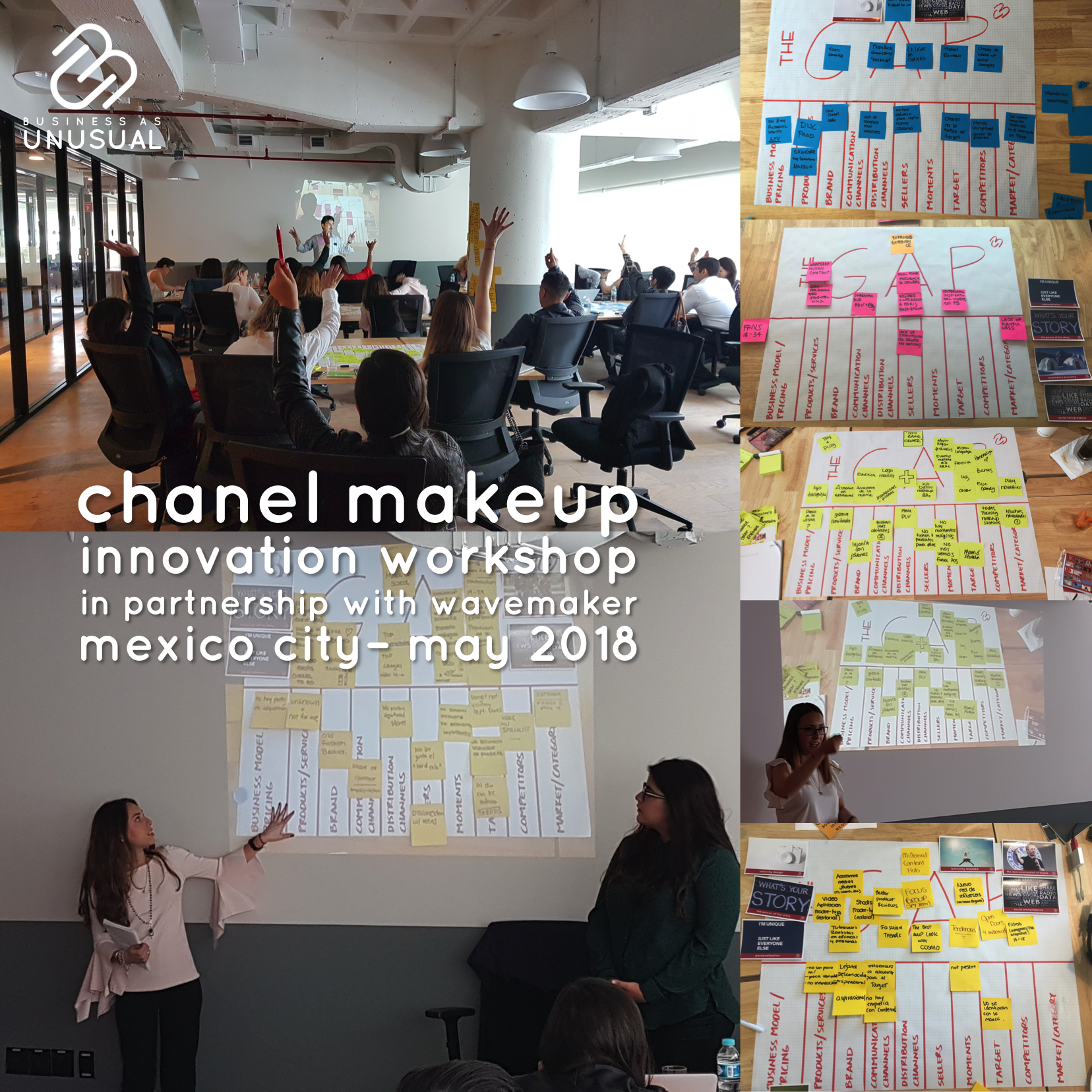 Chanel MakeUp – Ideation, Innovation, Problem-Solving & Marketing Plan – May 2018