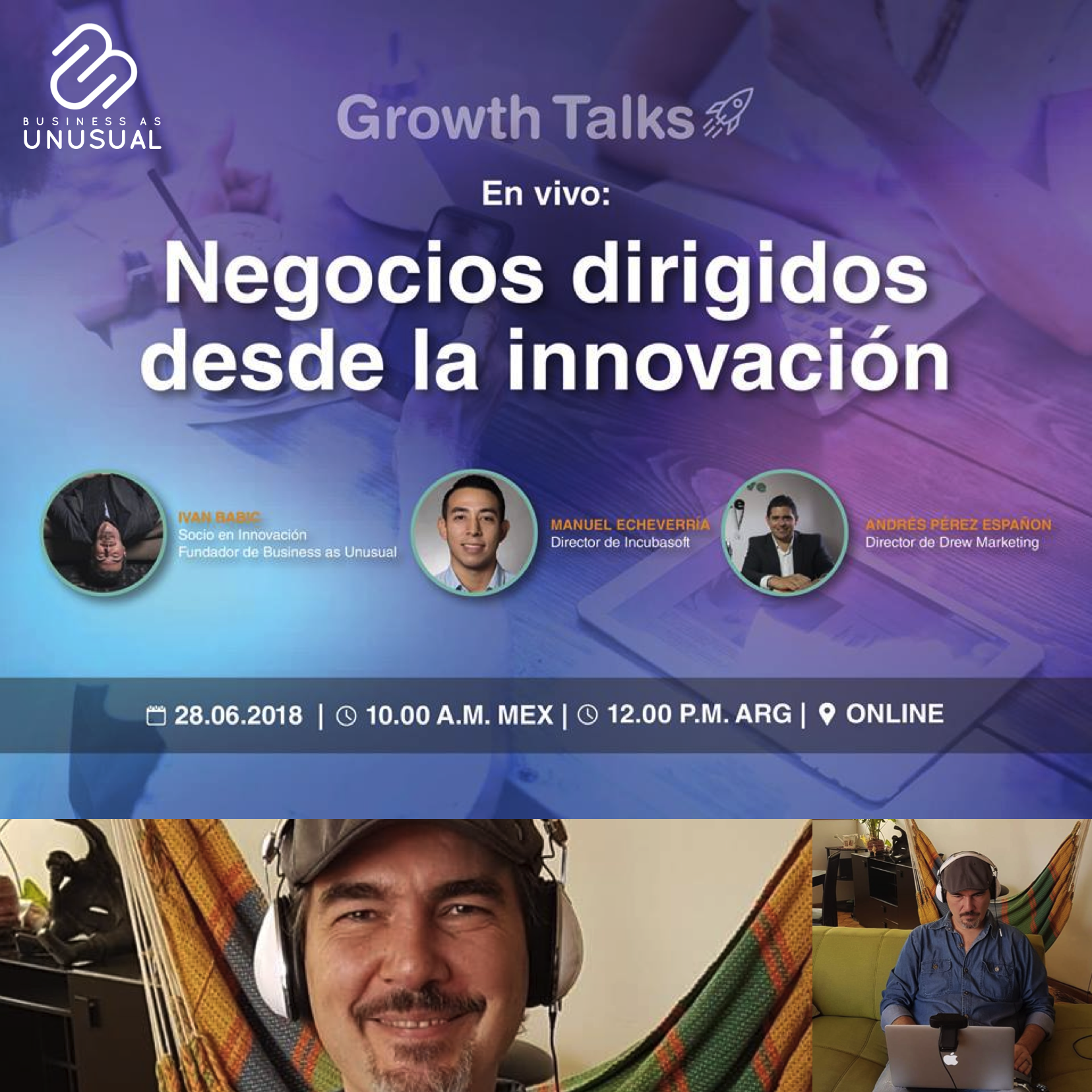 Growth Talks - Innovation-Driven Business Transformation - Incubasoft 2018