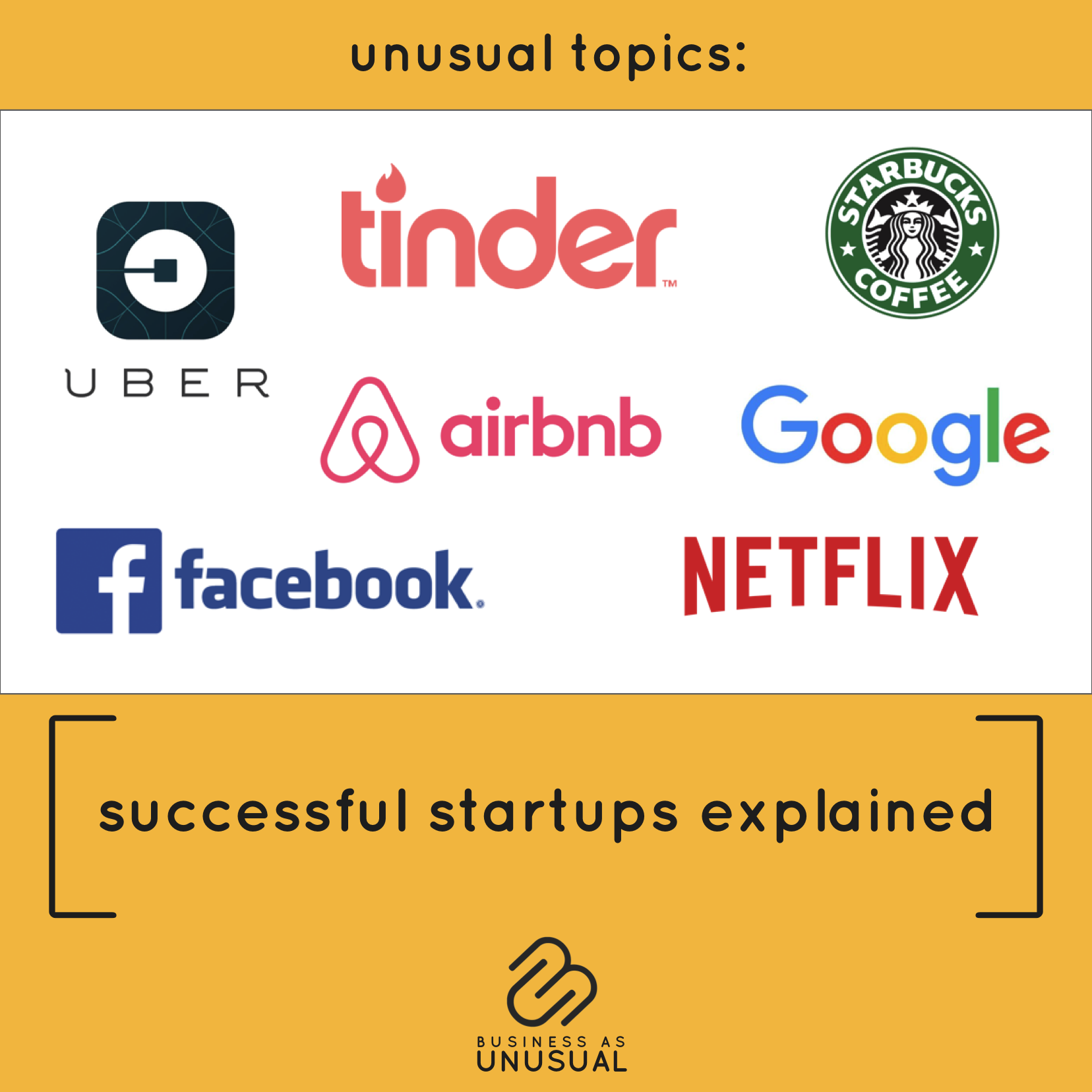 Successful Startups Explained