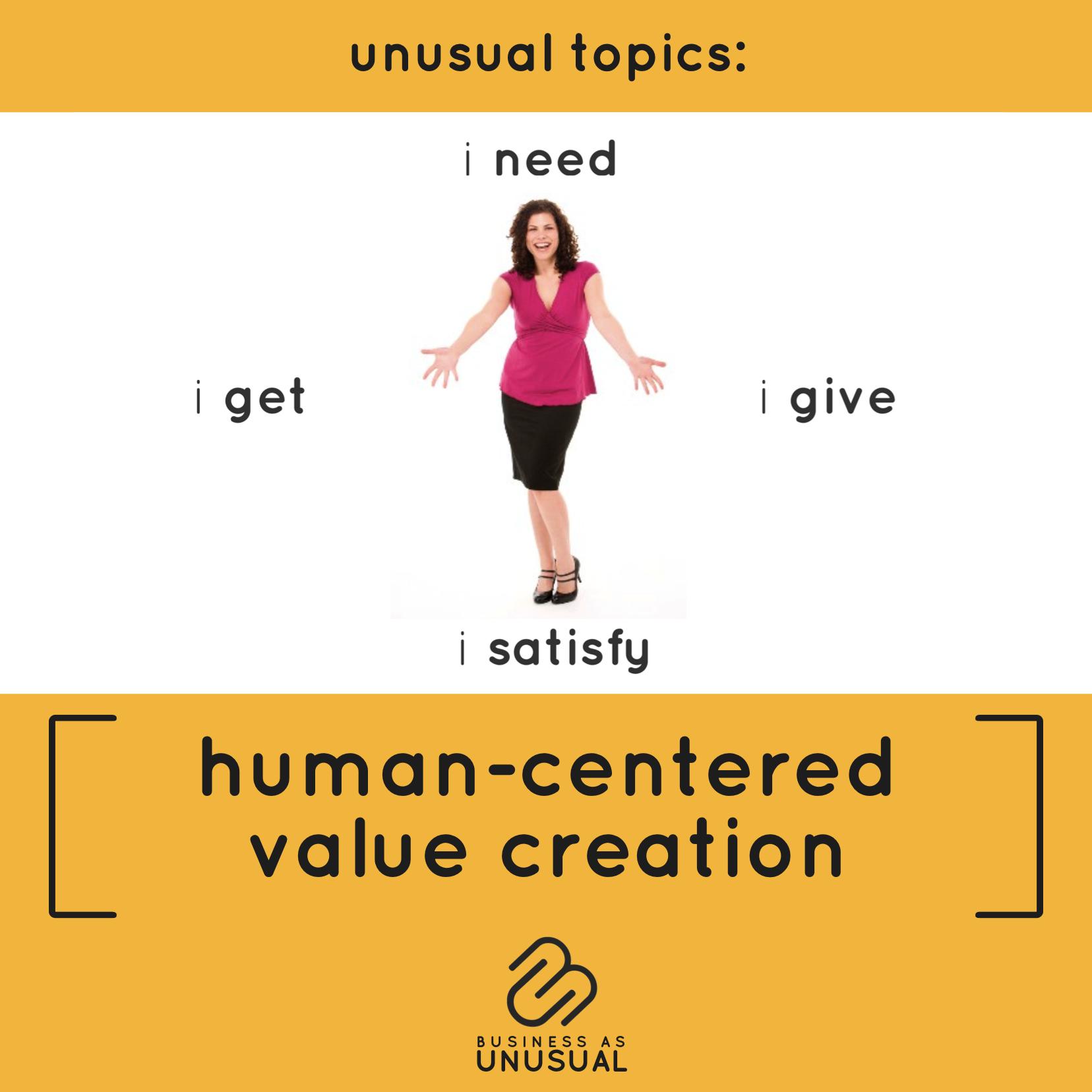 Human-Centered Value Creation