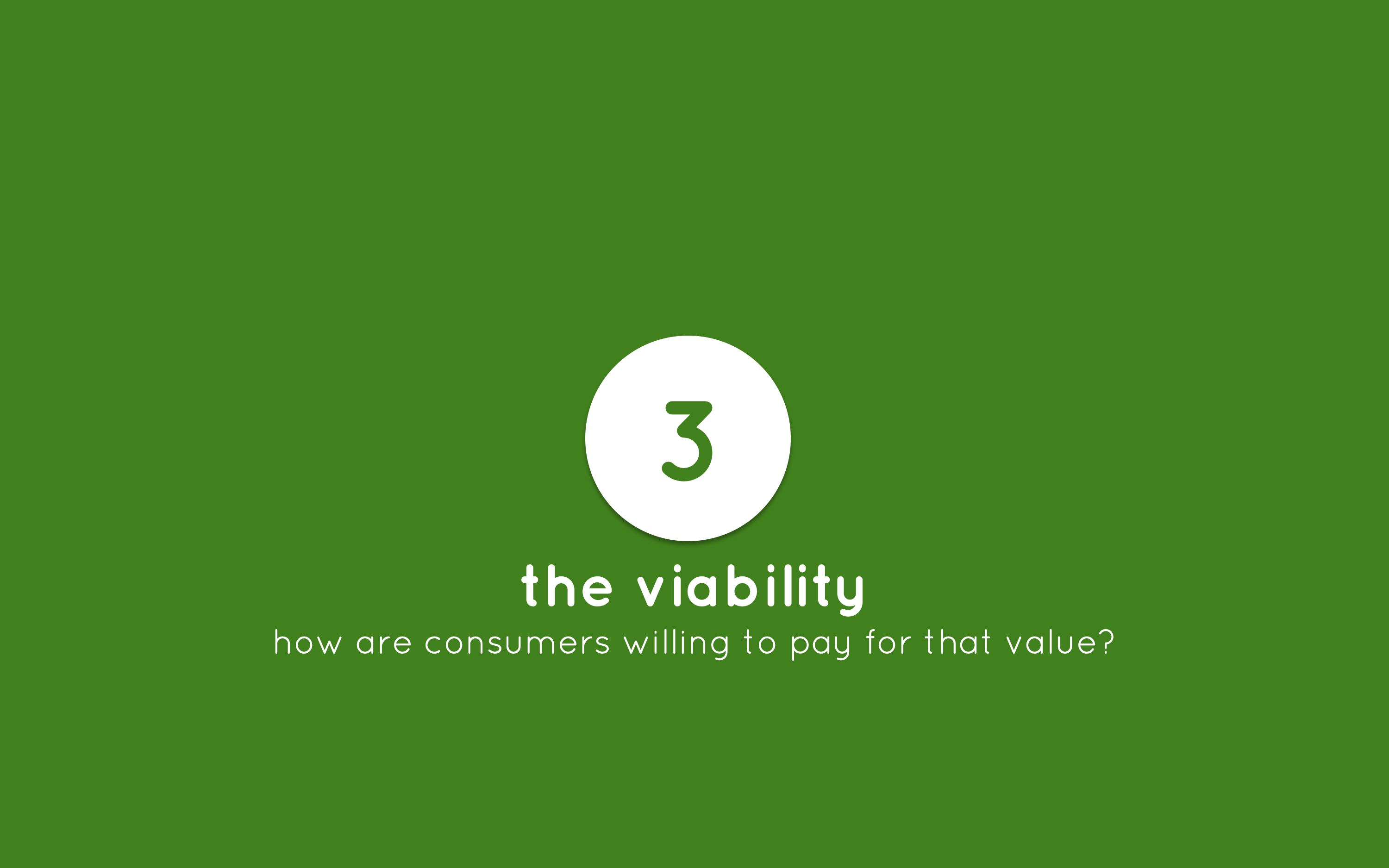 Human-Centered Entrepreneurship step 3 the viability