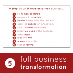 Innovation-Driven Business Transformation