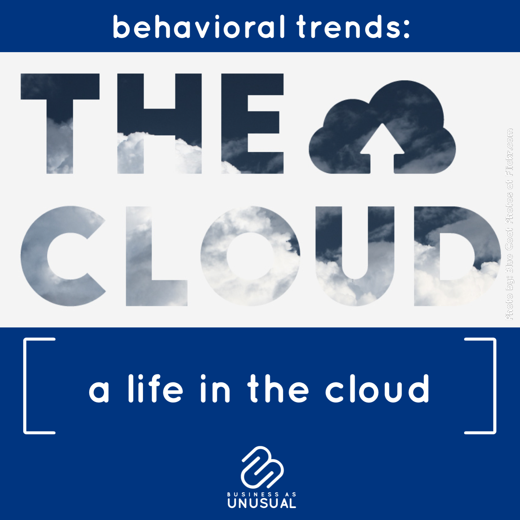Behavioral Trends: A Life in the Cloud