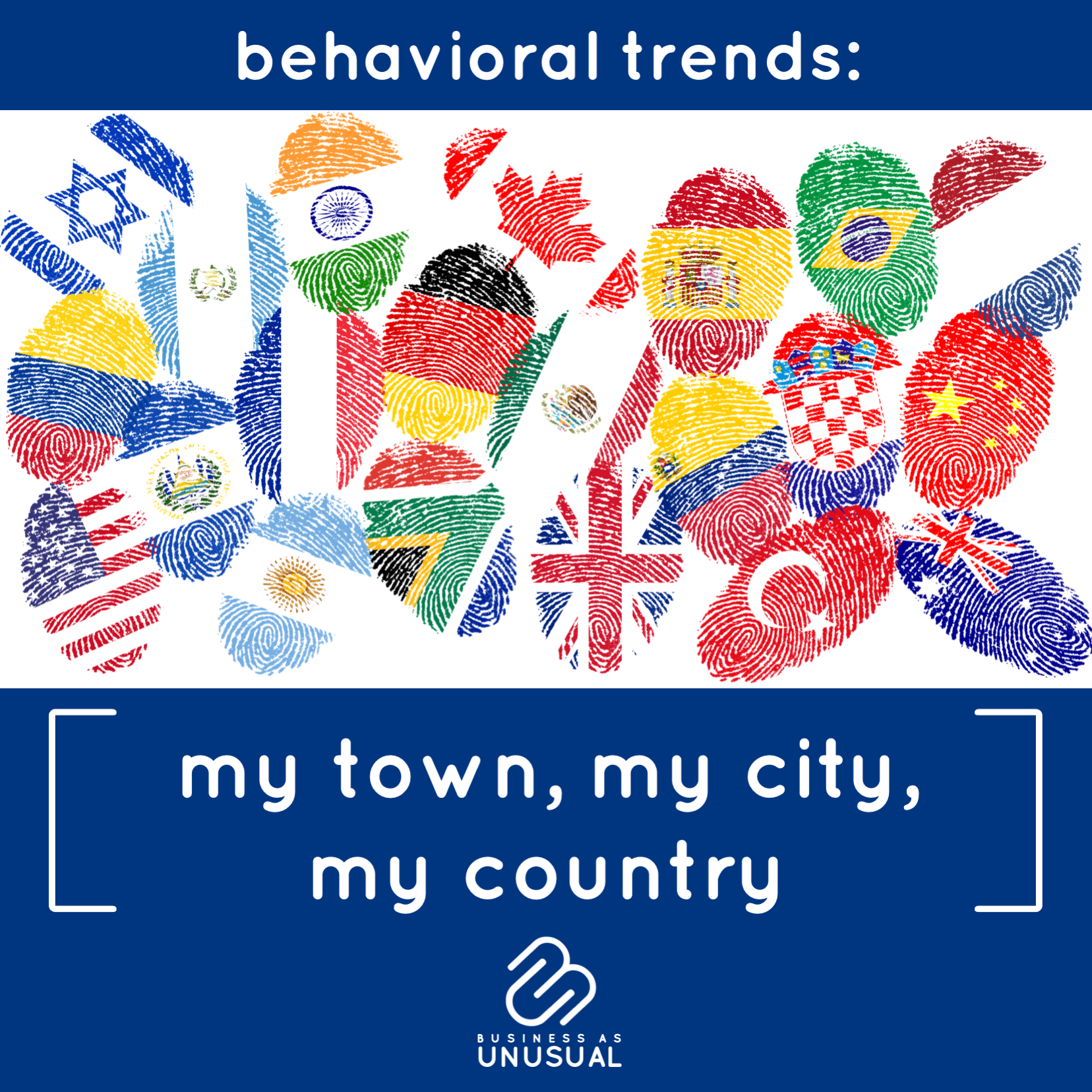 Behavioral Trends: My town My City My Country