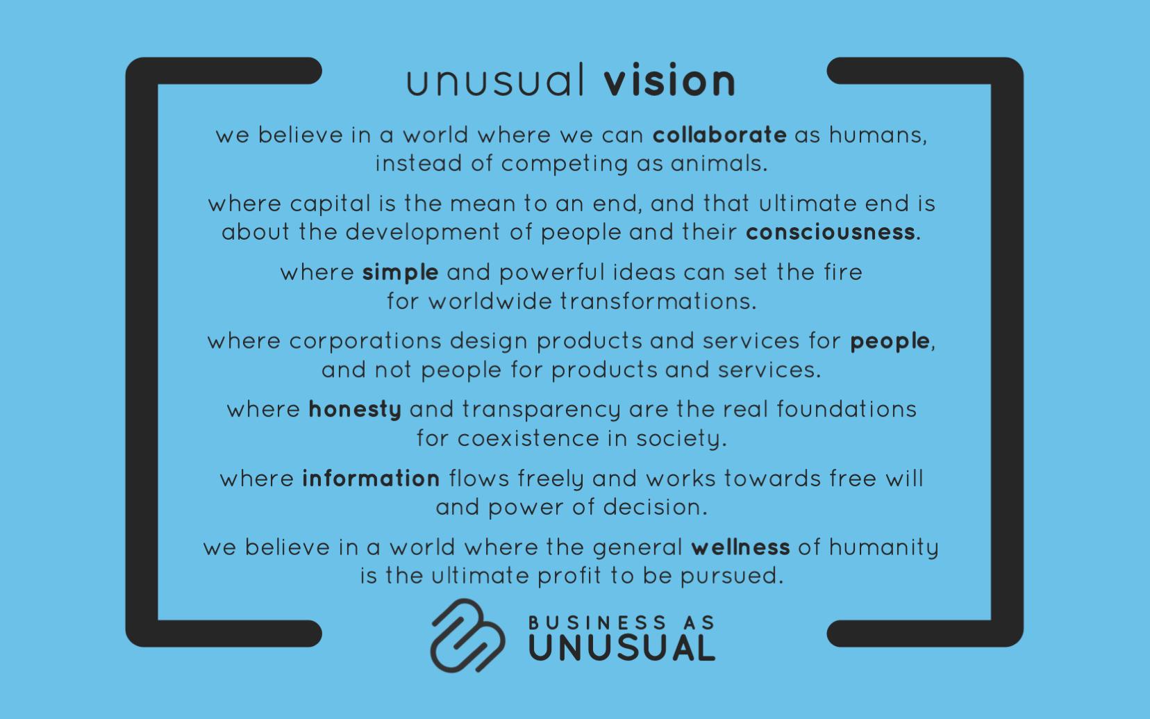 unusual vision