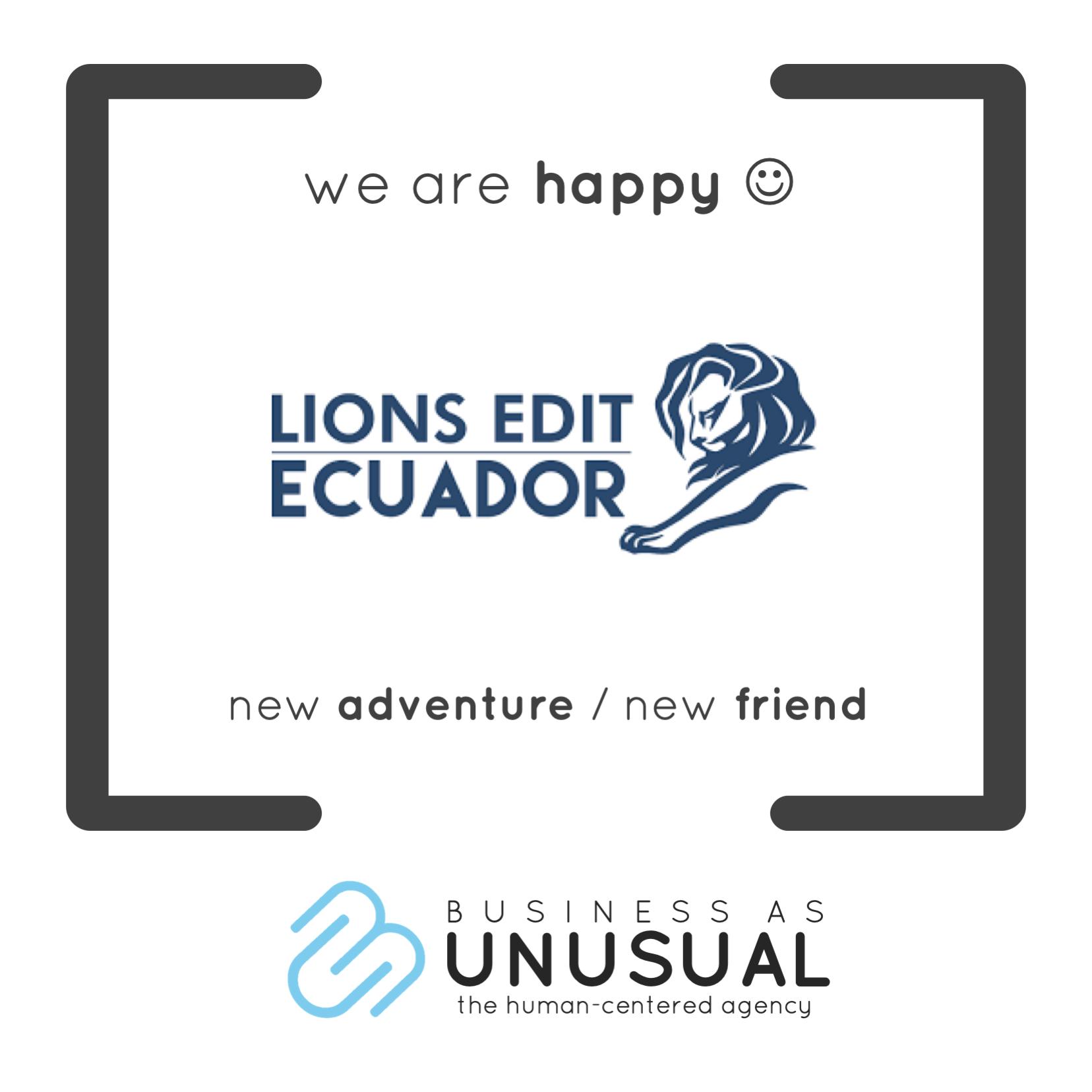 Cannes Lions Edit Ecuador