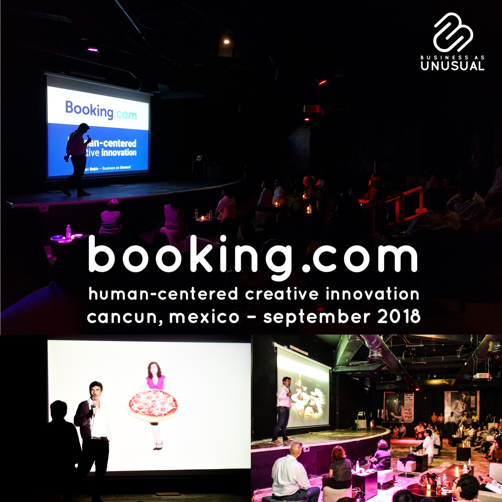 Booking.com - Human-Centered Creative Innovation - Cancun Mexico September 2018