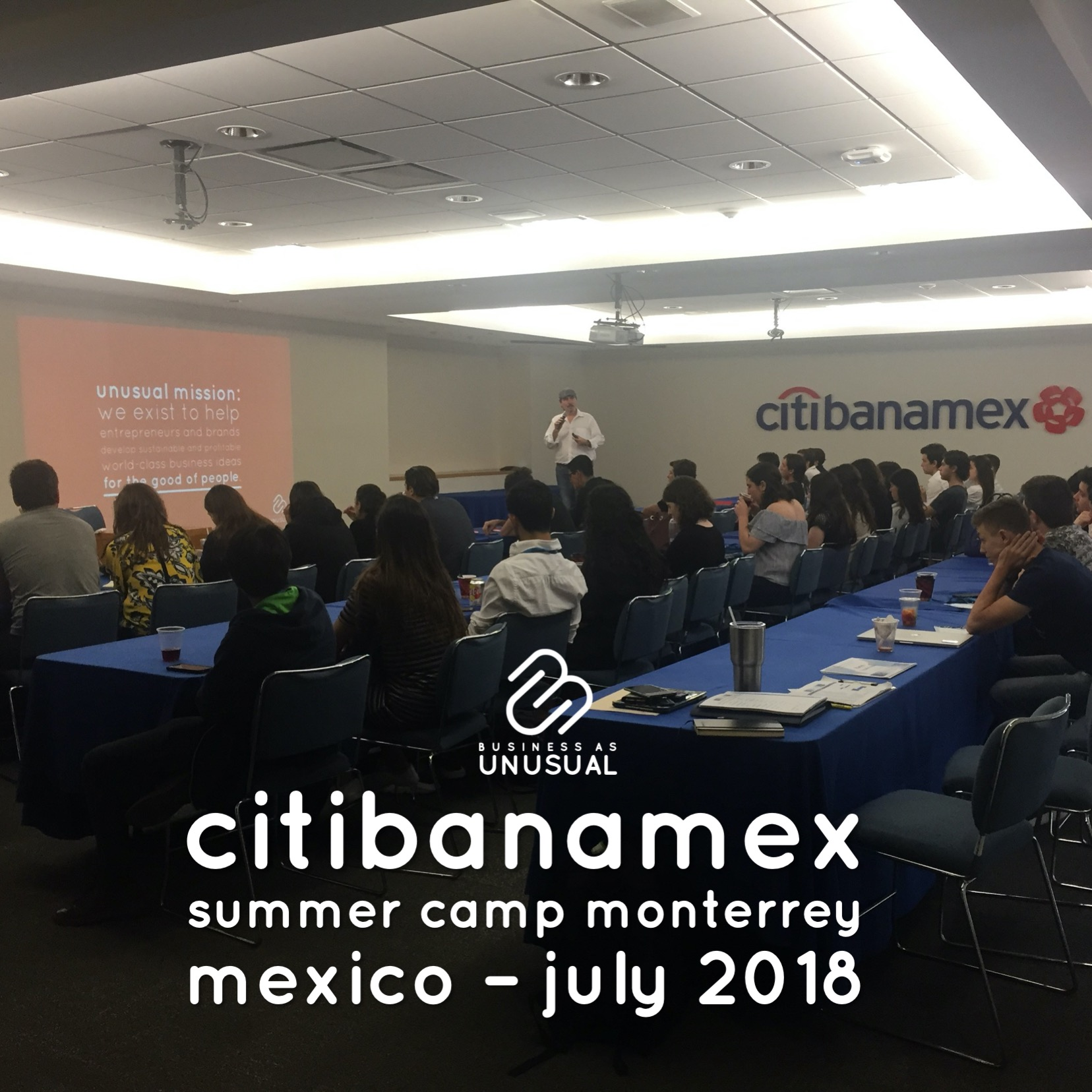 Citibanamex - Summer Camp Monterrey - Mexico July 2018