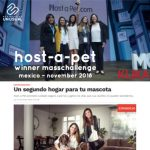 Host-a-Pet - Winner Masschallenge - Mexico November 2018