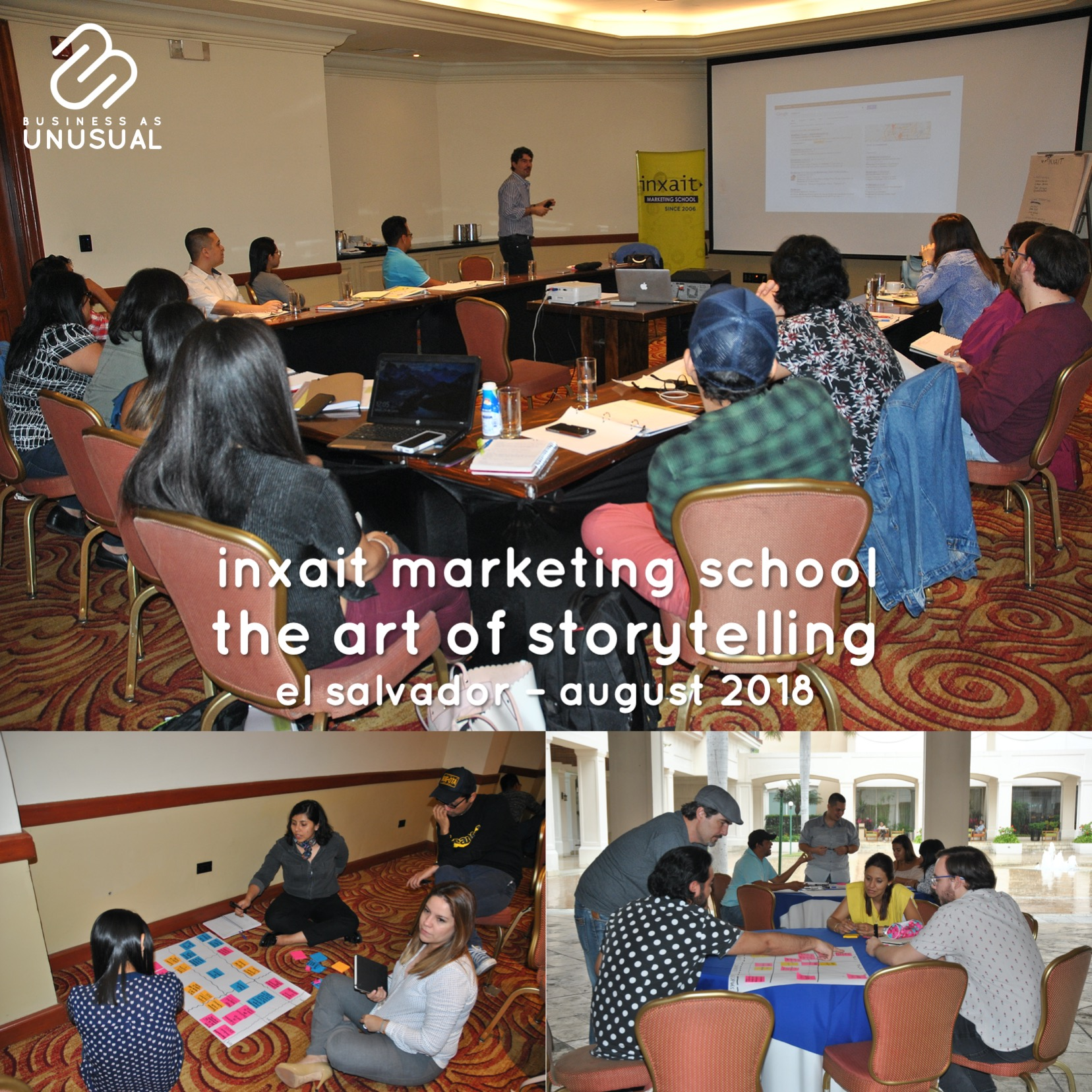 INXAIT Marketing School - The Art of Storytelling