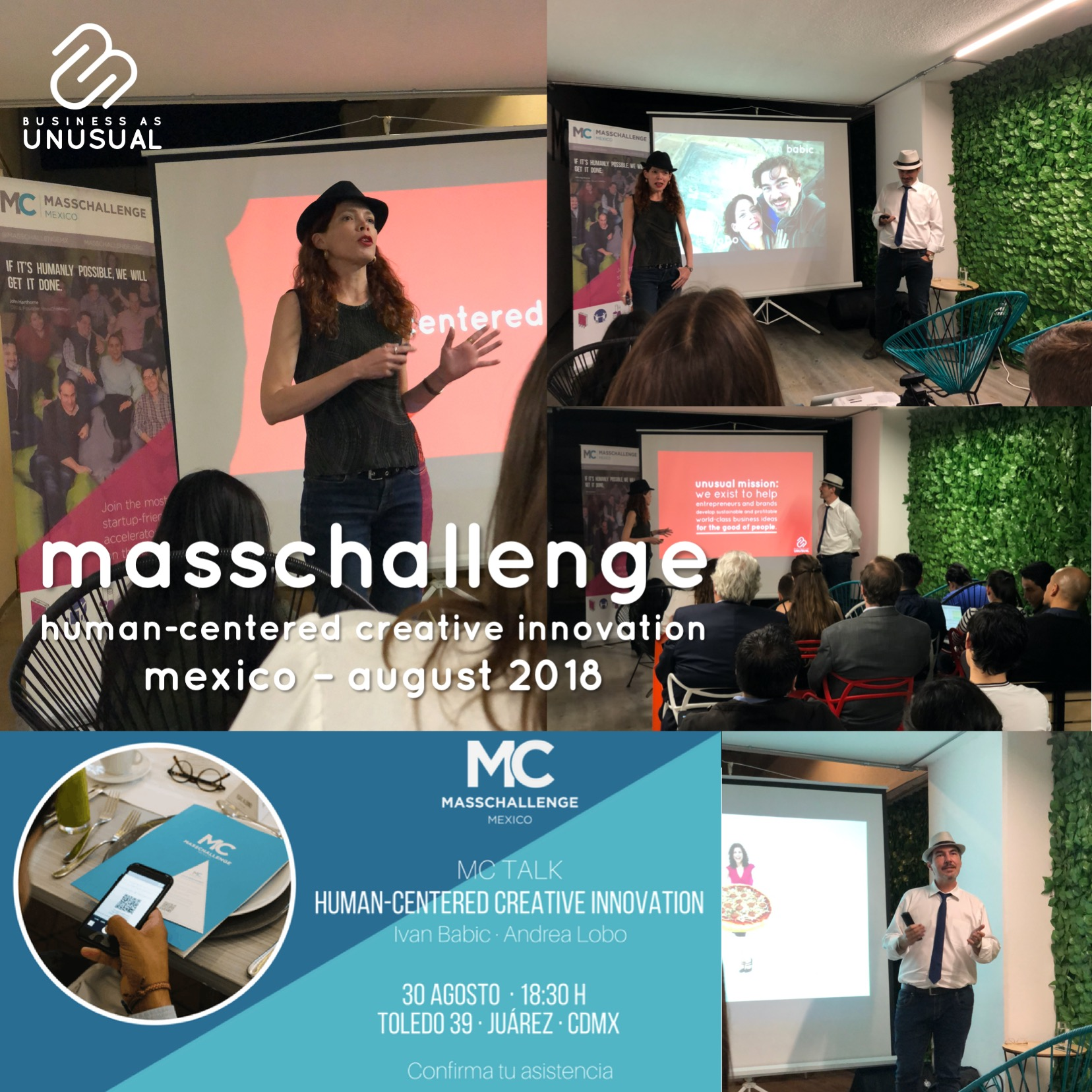 Masschallenge - Human-Centered Creative Innovation - Mexico August 2018