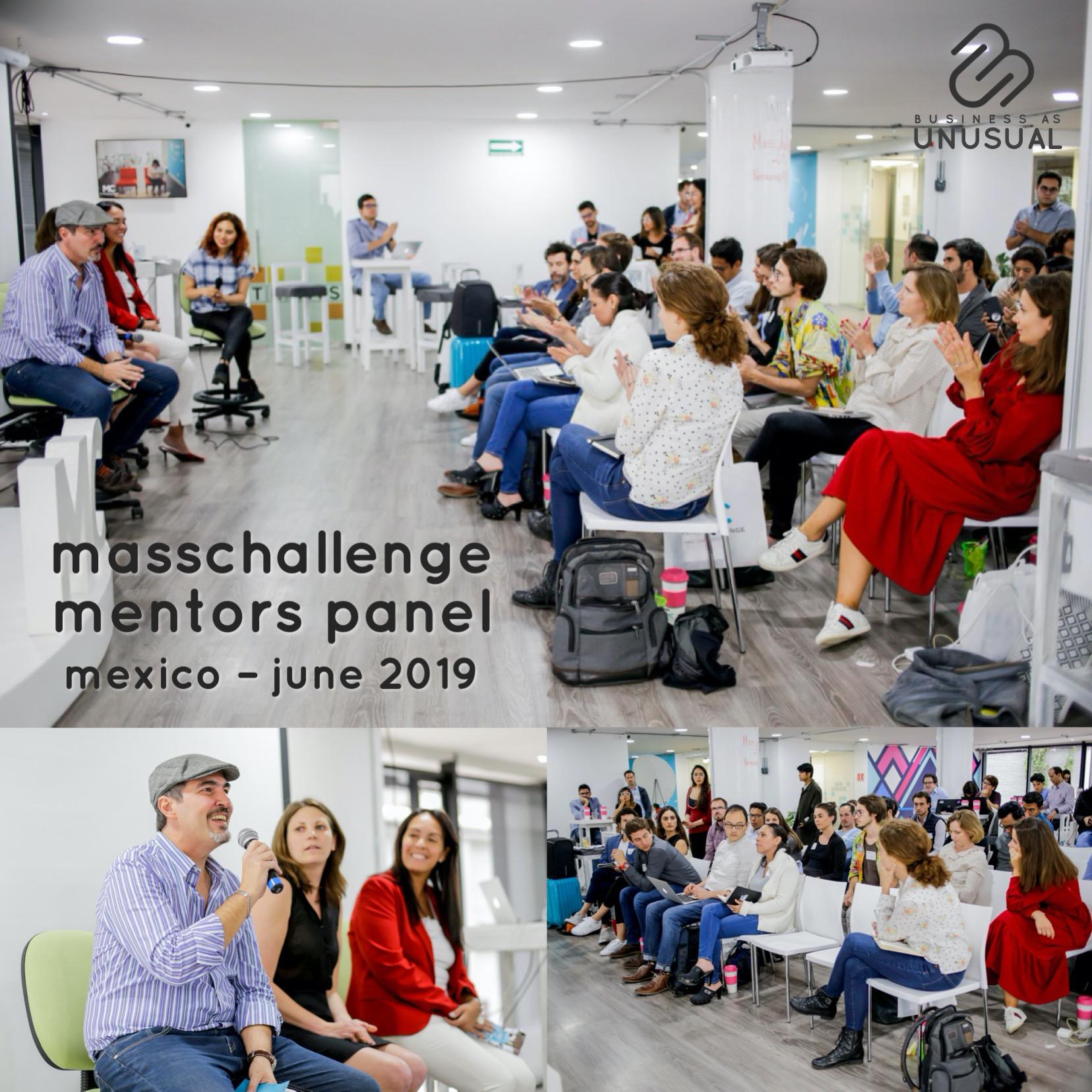 Masschallenge Mexico - Mentors Panel - June 2019