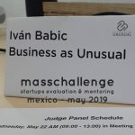 Masschallenge - Startups Evaluation & Mentoring - Mexico May 2019