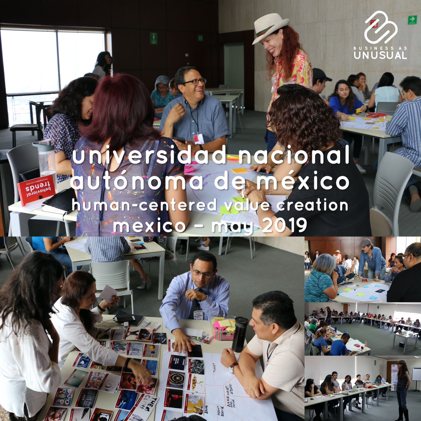 UNAM - Human-Centered Value Creation - Workshop - Mexico May 2019