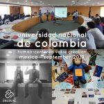 Universidad Nacional de Colombia - Human-Centered Value Creation - Mexico September 2019